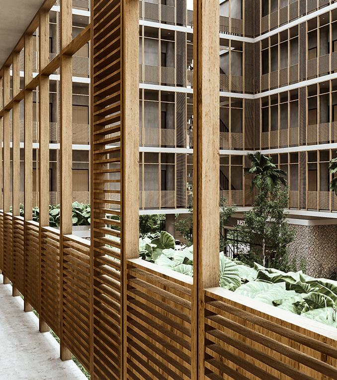 acabado bambú ESPACIO